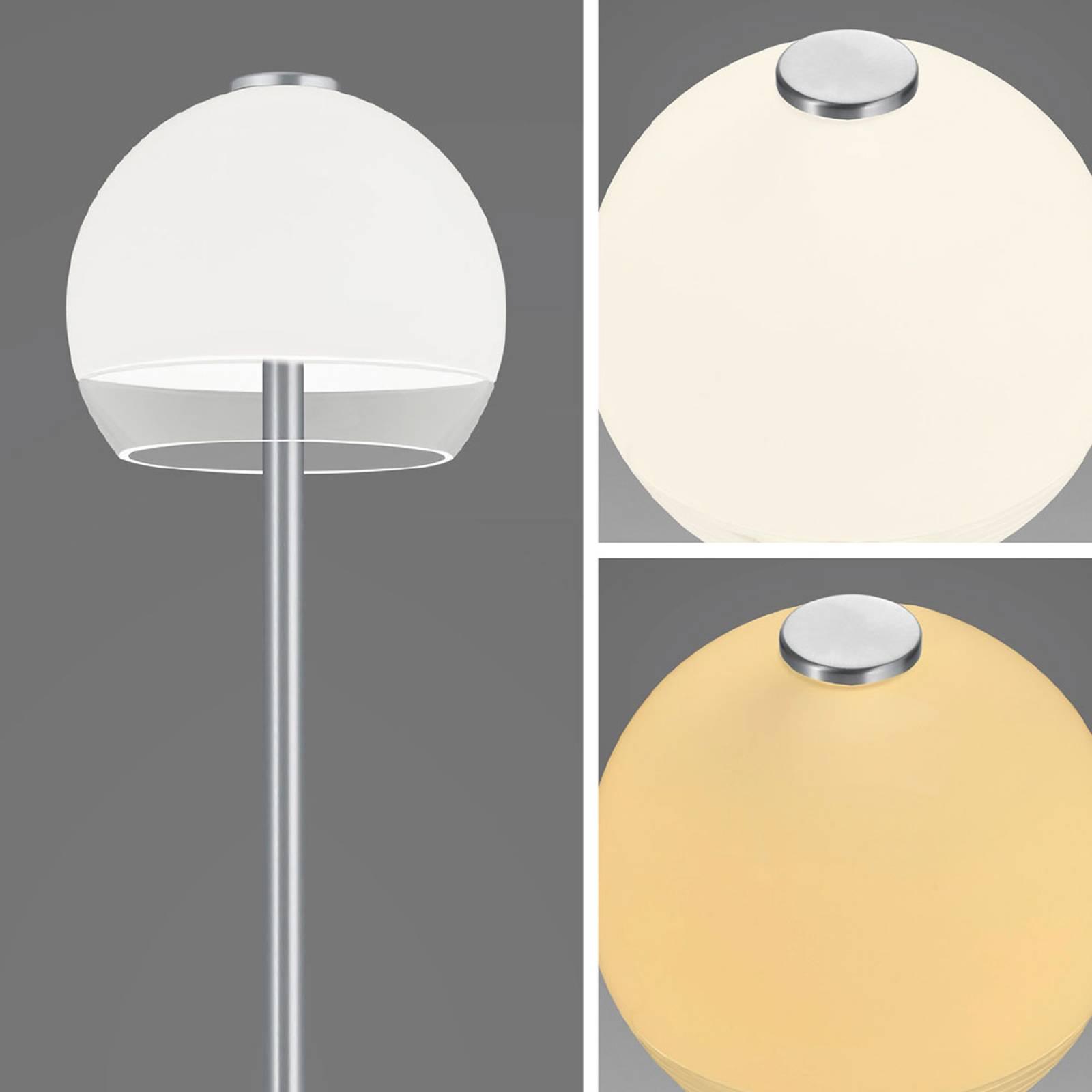 Bopp Flavor LED vloerlamp met touch-dimmer