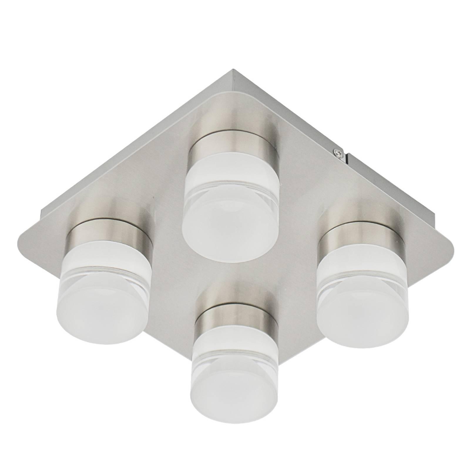 Plafondlamp Stefanie met vier Led-lichtbronnen