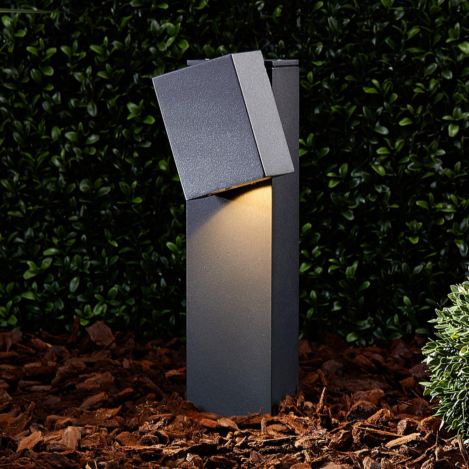 Verstellbare LED-Sockelleuchte Lorik
