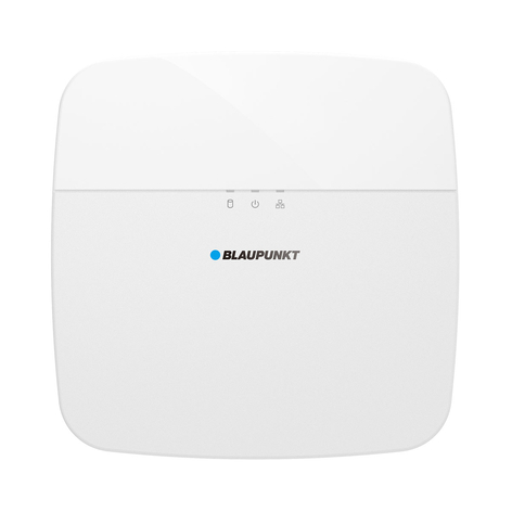 Blaupunkt VIO-NVR80 videoinspelare, 8-kanaler