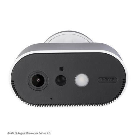 ABUS Akku Außenkamera Set, 2x Kamera+Basisstation