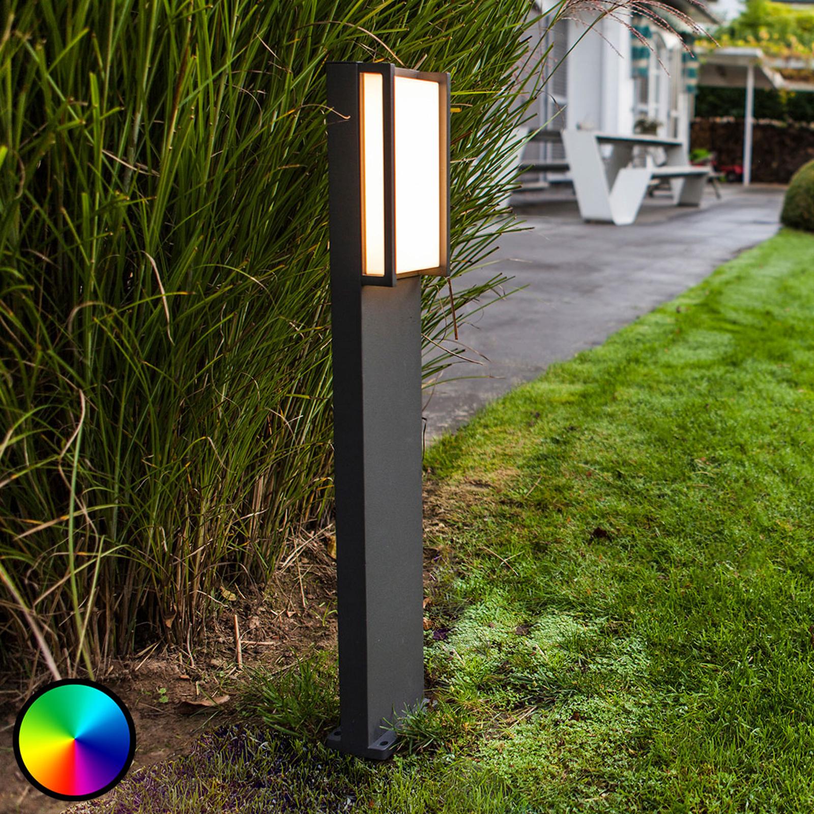 WiZ słupek oświetleniowy LED Qubo