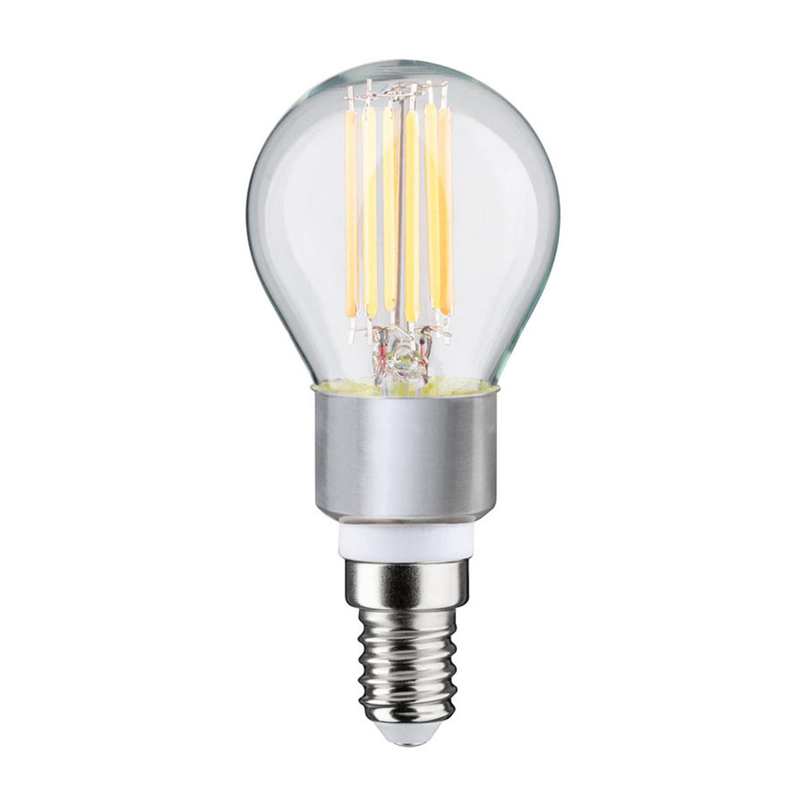 Paulmann LED-Tropfenlampe E14 5W dim to warm