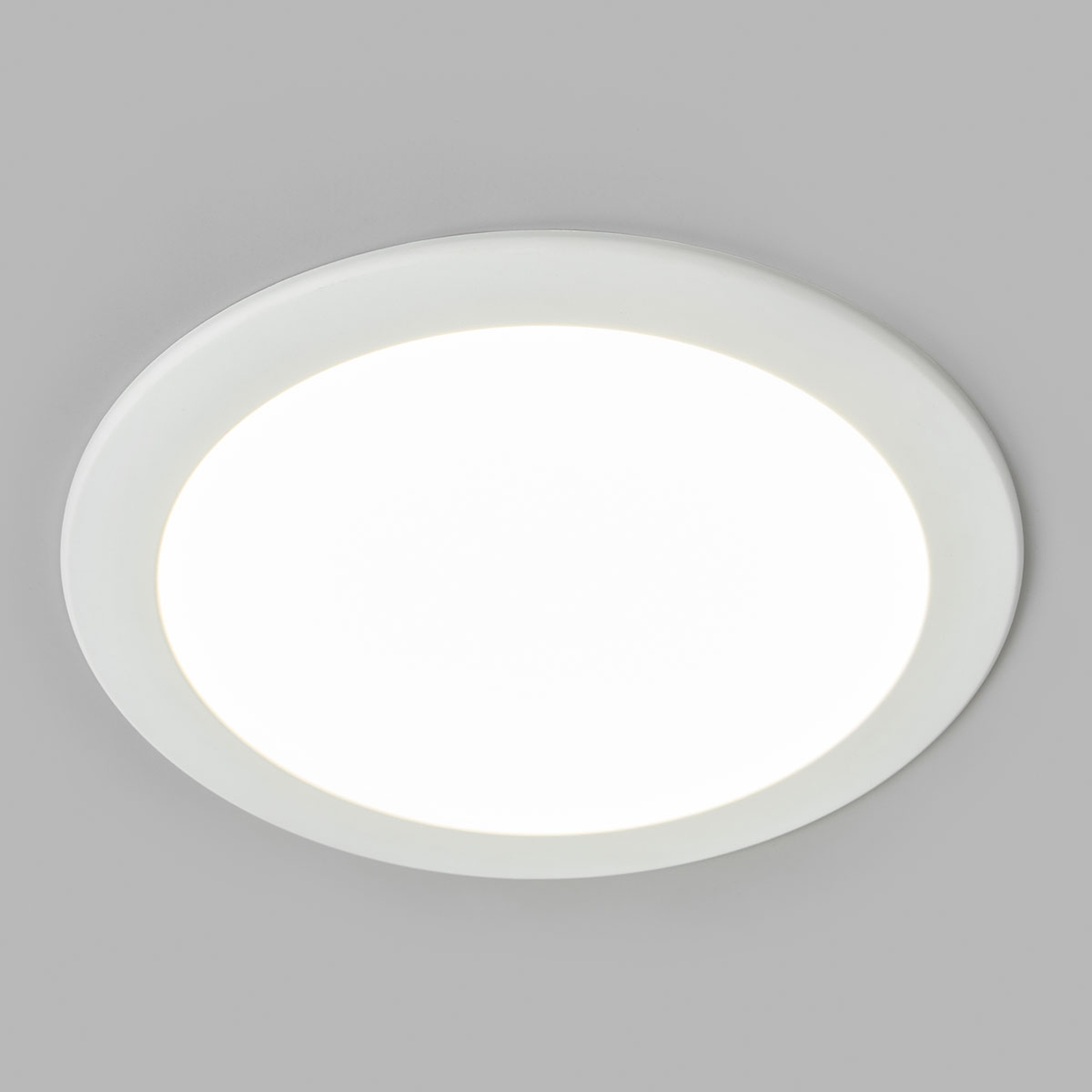 LED-indbygningsspot Joki hvid 4000K rund 24cm