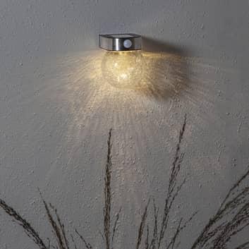 LED-solvegglampe Gloy med bevegelsessensor