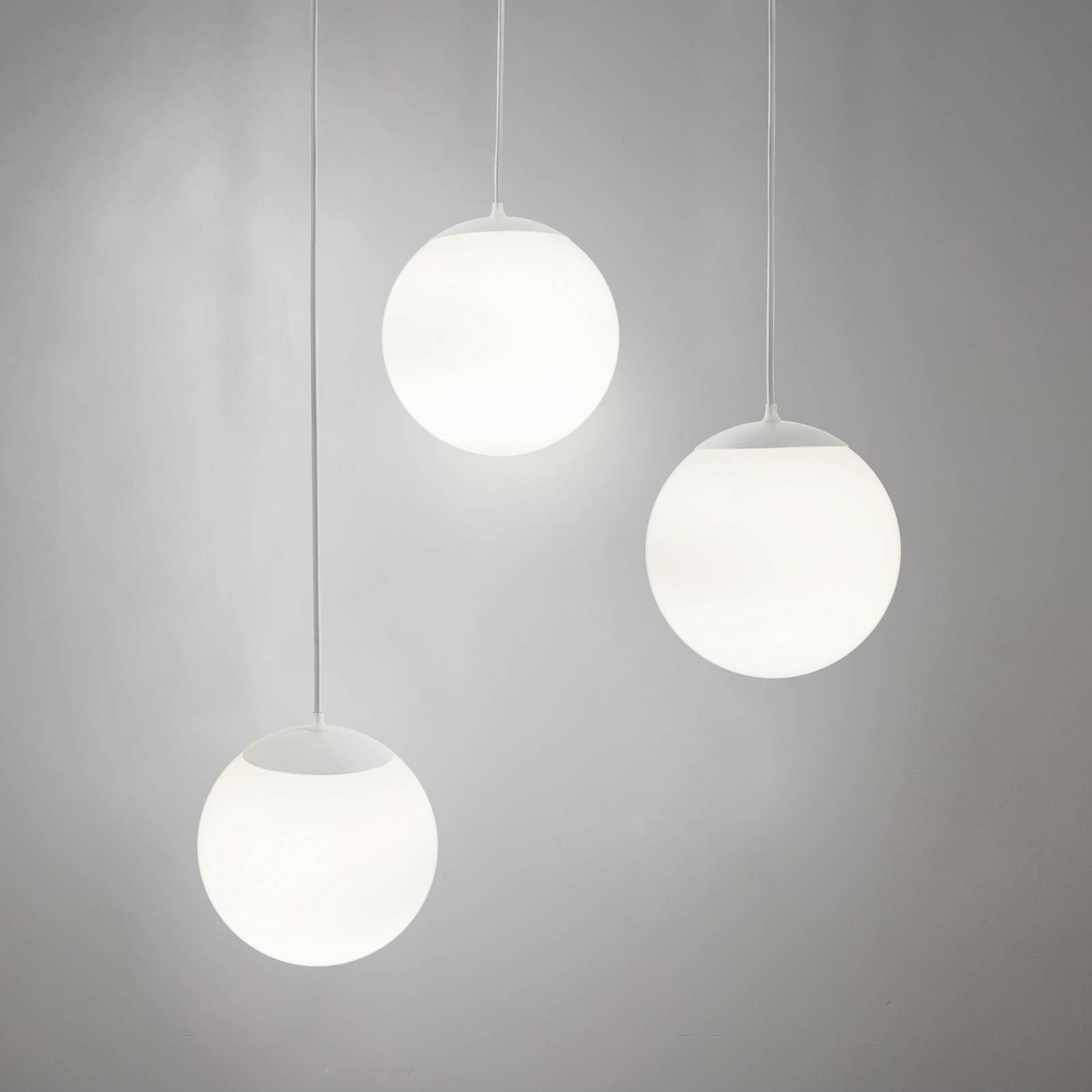 Innermost Drop hanglamp, wit, Ø 40 cm