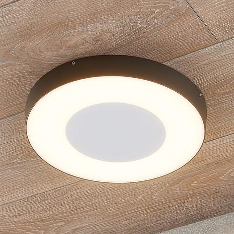 Plafón LED para exterior Sora, circular