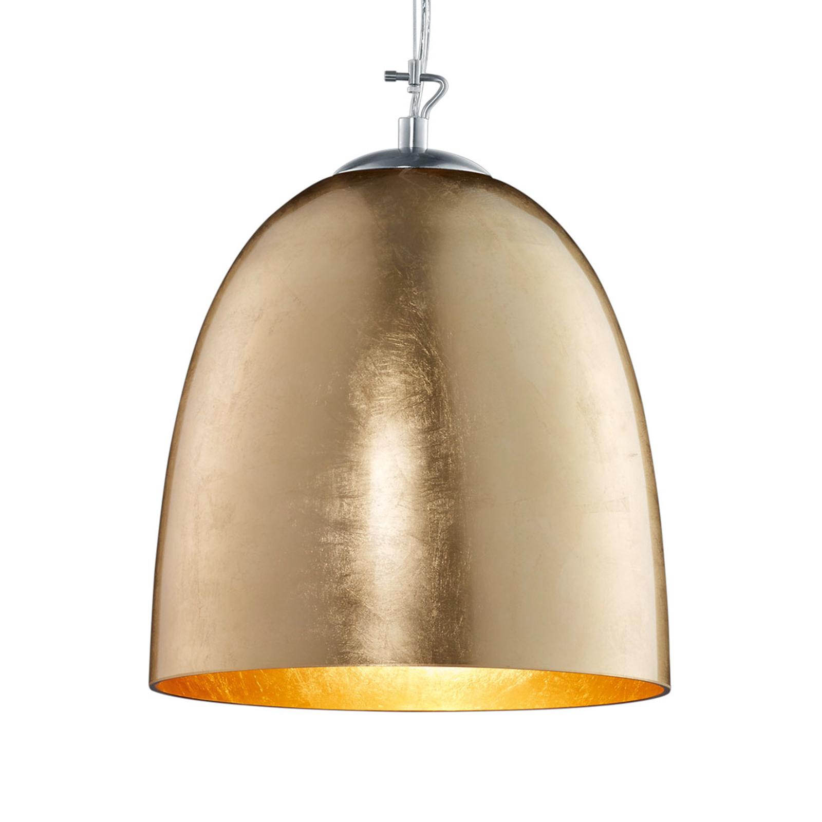 Ontario - lampa wisząca ze szkła, w kolorze złota