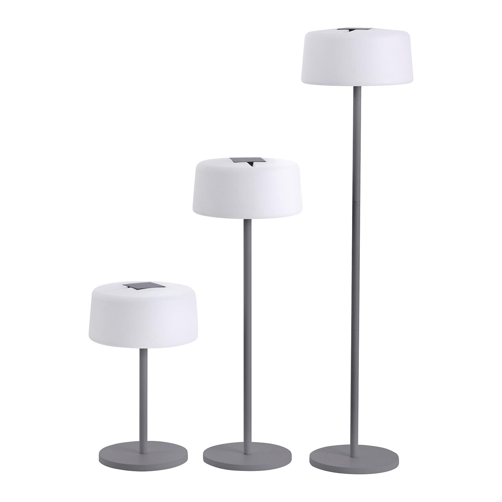 Bump solc.-gulvlampe, 3 høyder, sensor, antrasitt