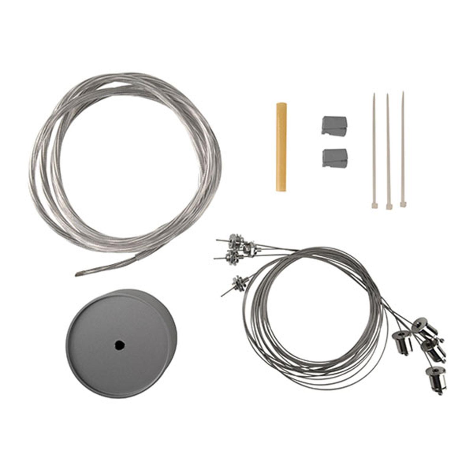 suspension par 4 câbles, 150cm