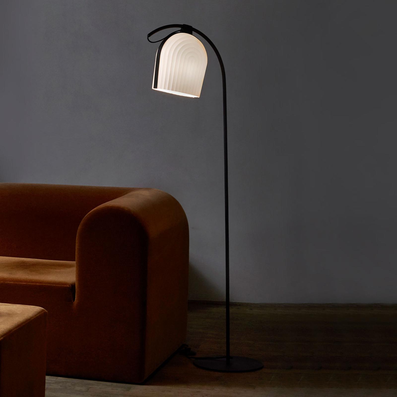 LE KLINT Arc designová stojací lampa ruční výroba