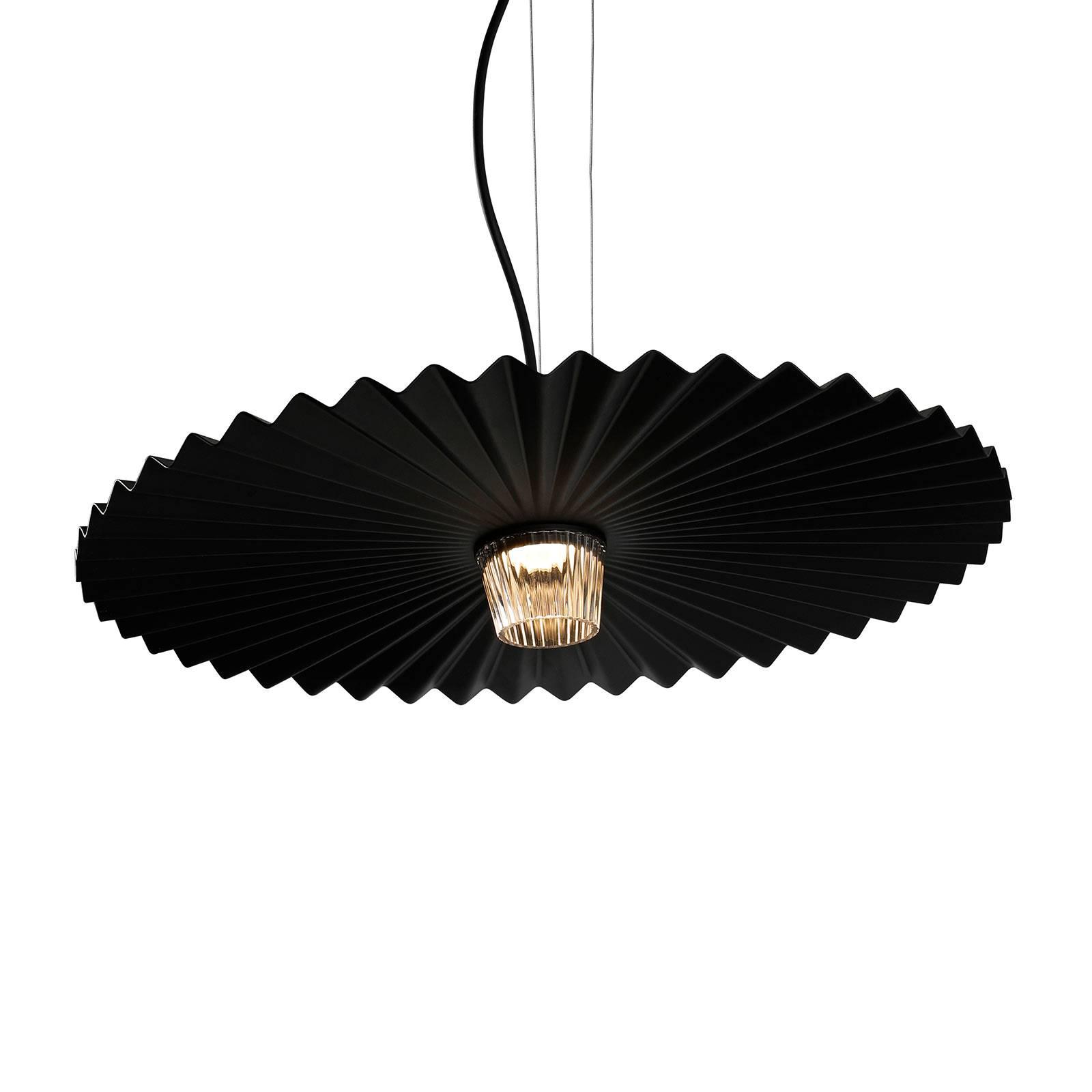 Karman Gonzaga LED hanglamp, Ø 59 cm, zwart