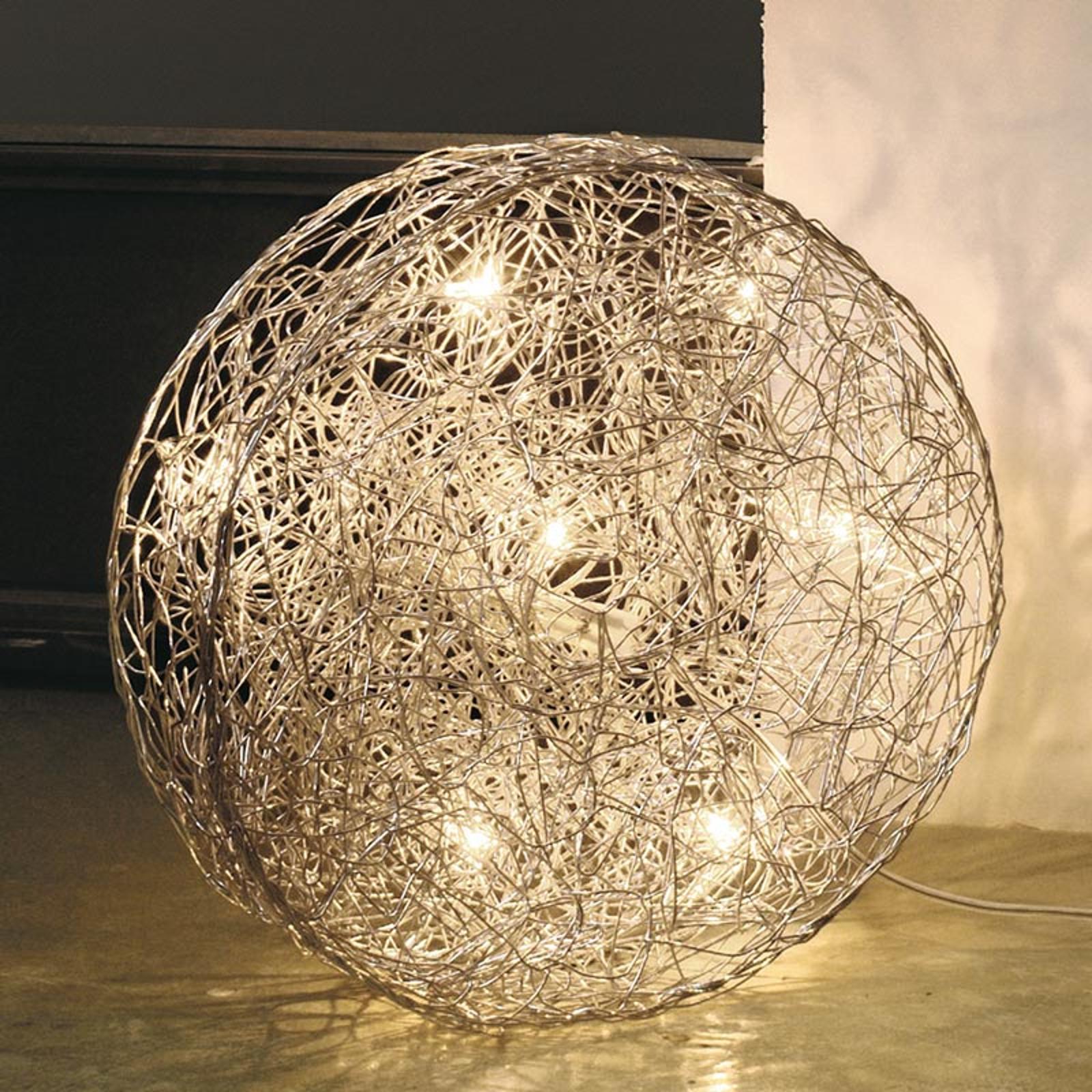 Designerska lampa podłogowa LED Rotola, 40cm