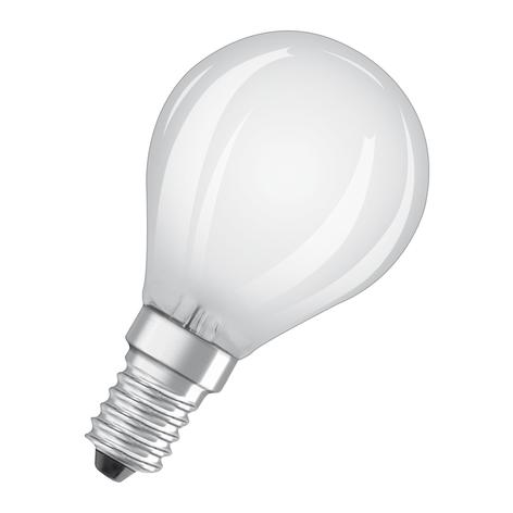 OSRAM LED-Lampe E14 4W Classic P 2.700K matt