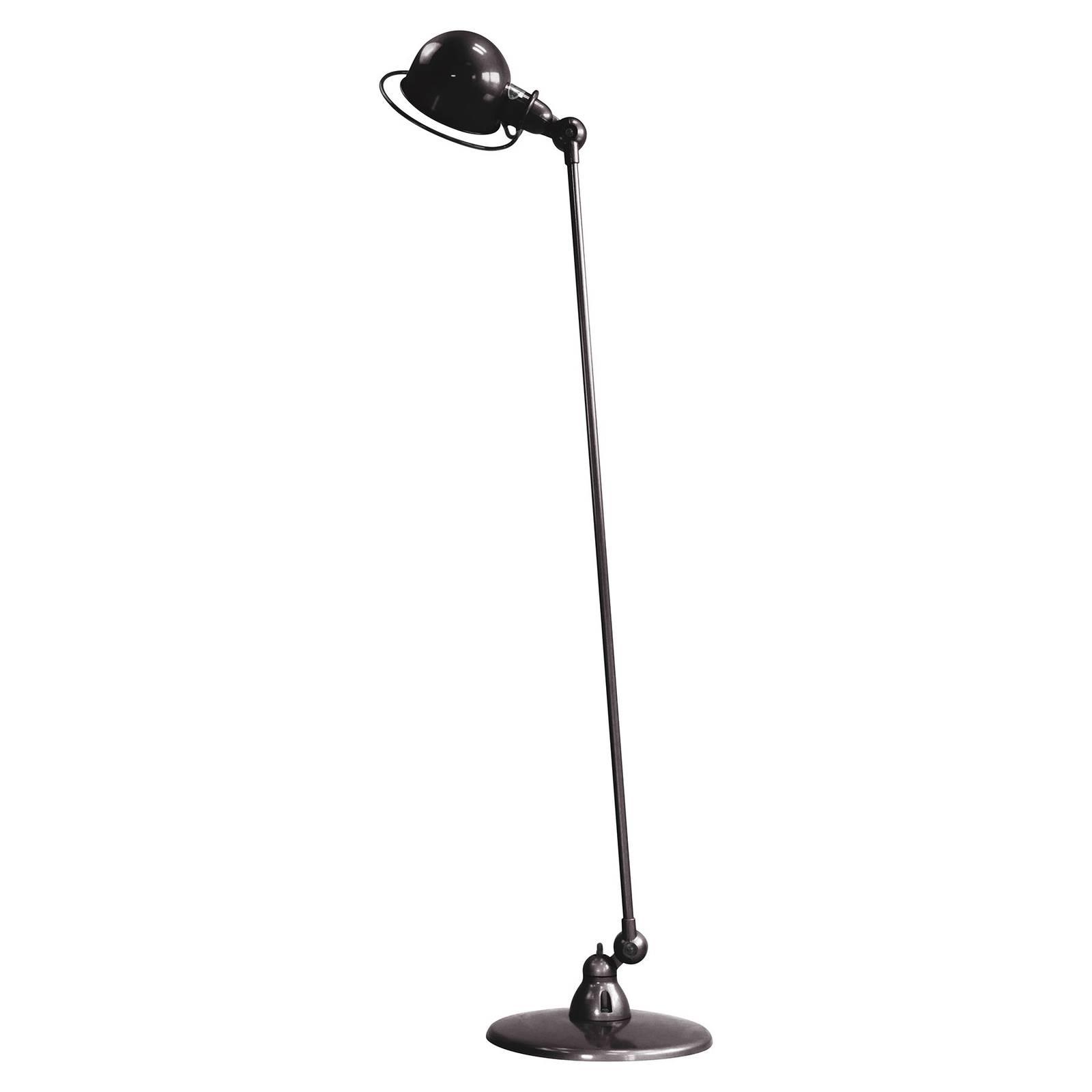 Jieldé Loft D1200 vloerlamp, instelbaar, zwart