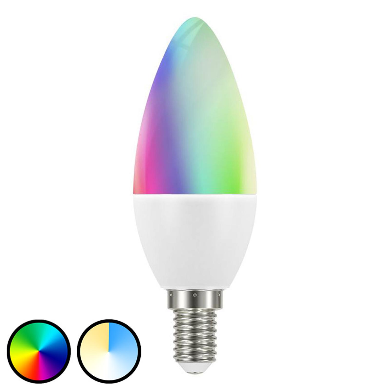 Müller Licht tint white+color LED-Lampe E14 6W