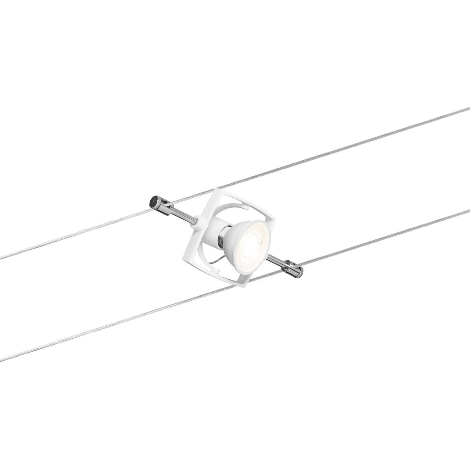 Paulmann Mac II Seilsystem, fünfflammig, weiß