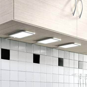 Lampe sous meuble LED Svela, set de 3