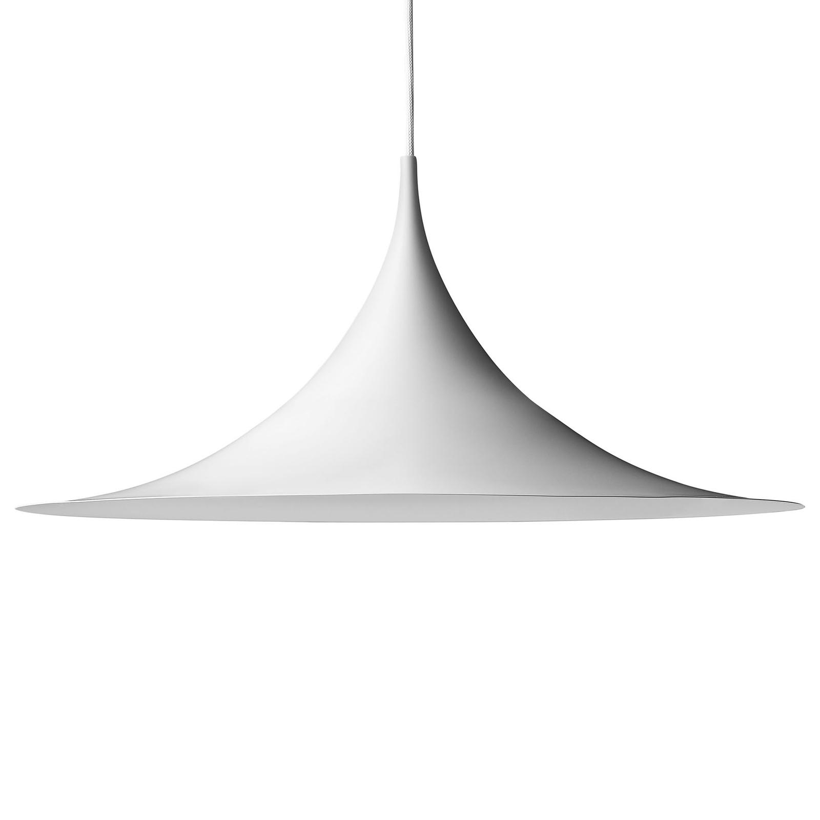 GUBI Semi Pendelleuchte Ø 47 cm weiß