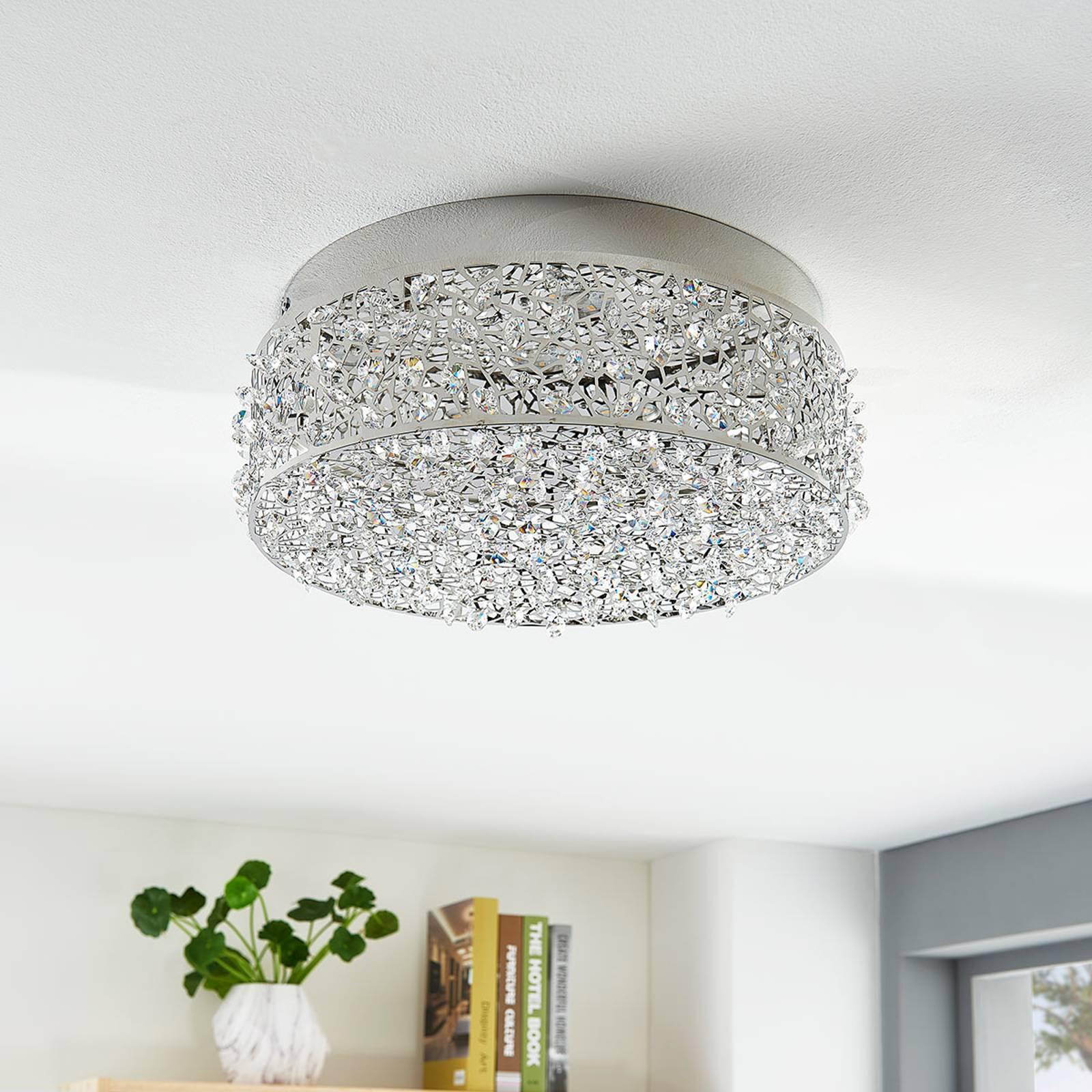 LED-Deckenleuchte Felias, runde Form