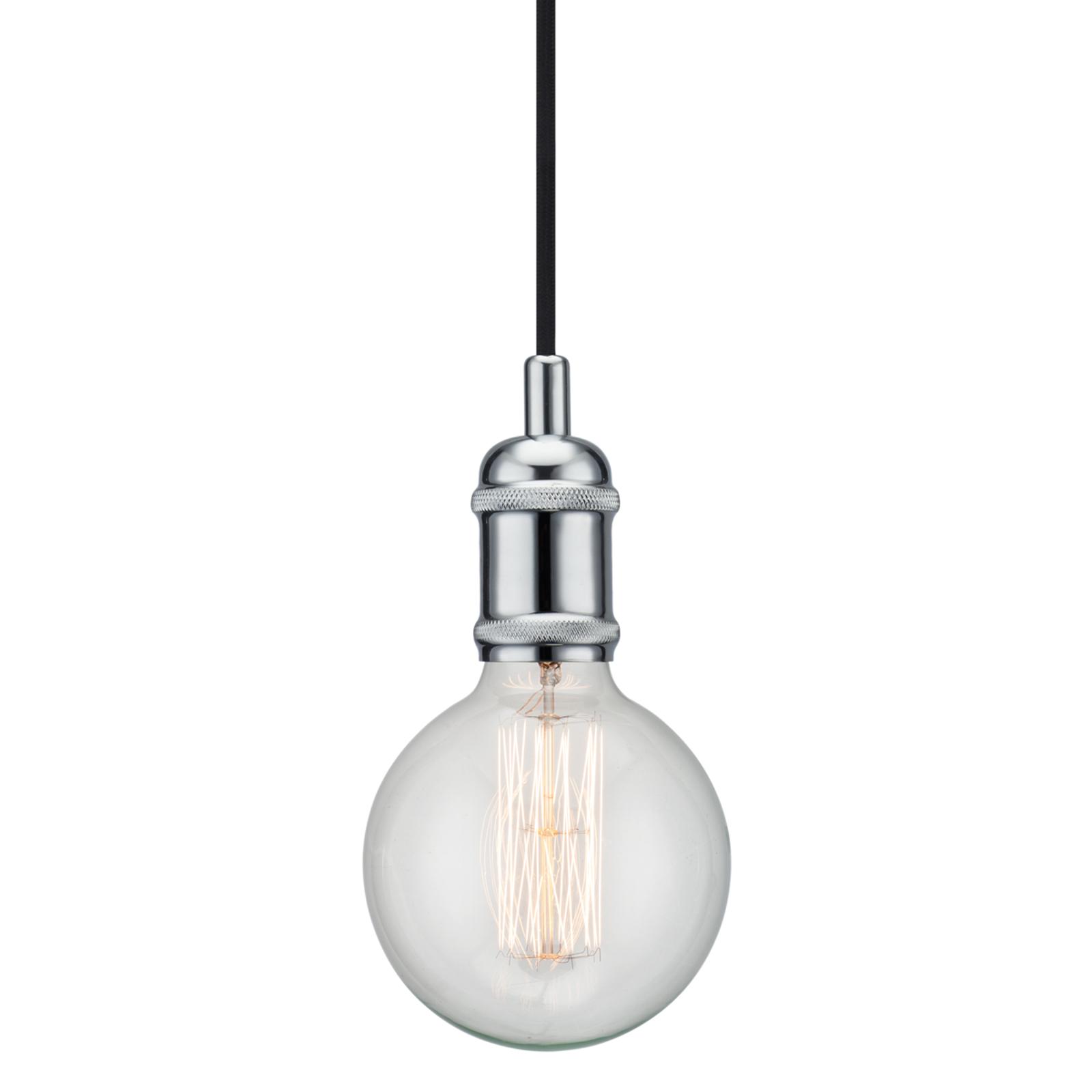 Avra - minimalistyczna lampa wisząca chrom