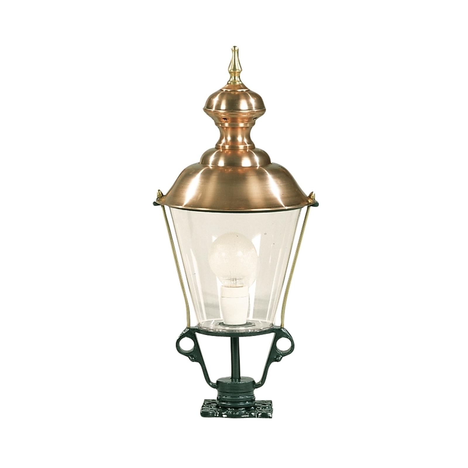 Luminaire pour socle K43 vert hauteur 61 cm