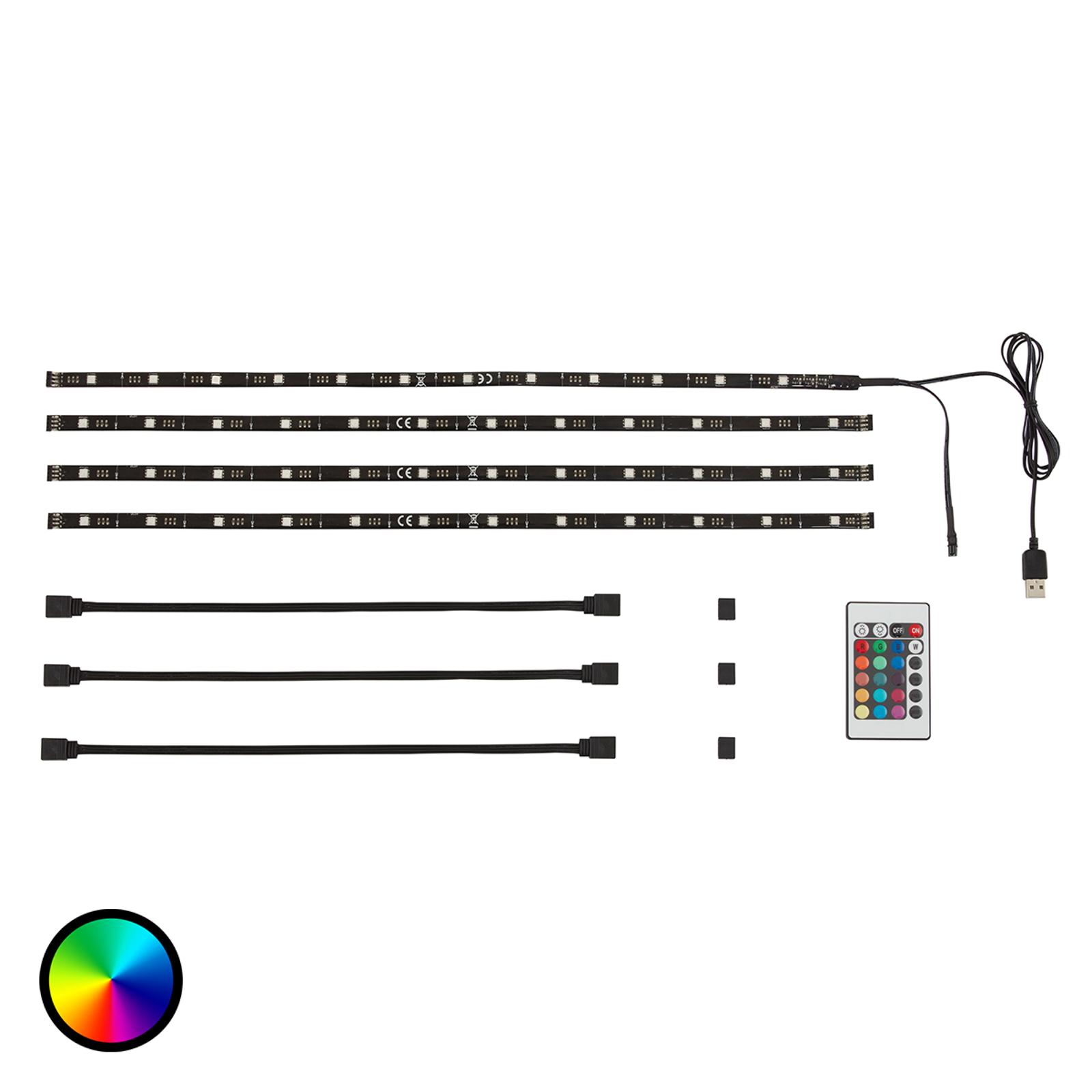 USB-LED-Stripe Watch zur TV-Hintergrundbeleuchtung