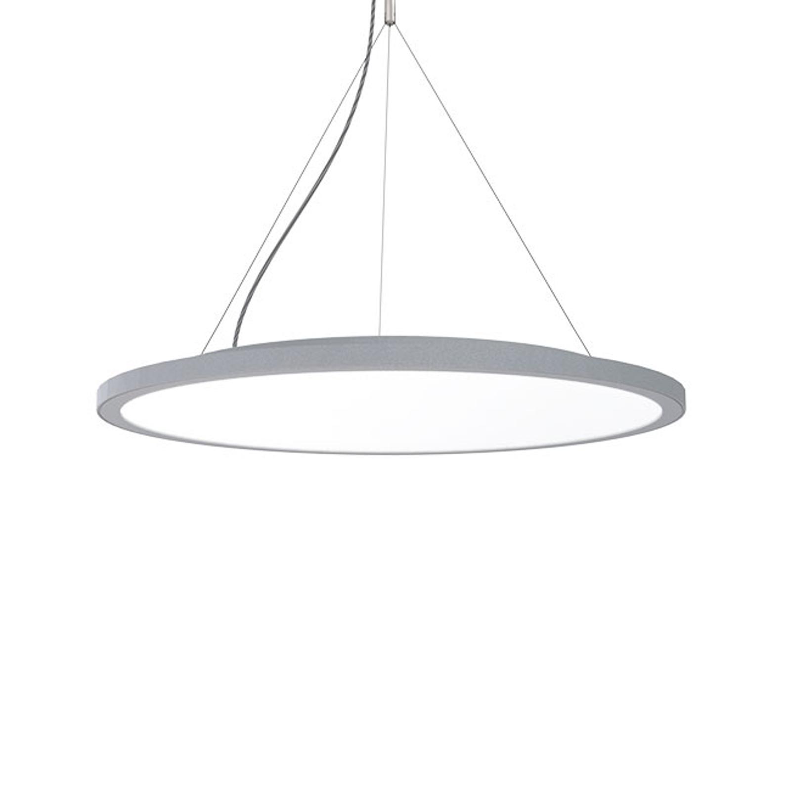 Lampa wisząca C95-P Circle szara DALI, 4000K 39W