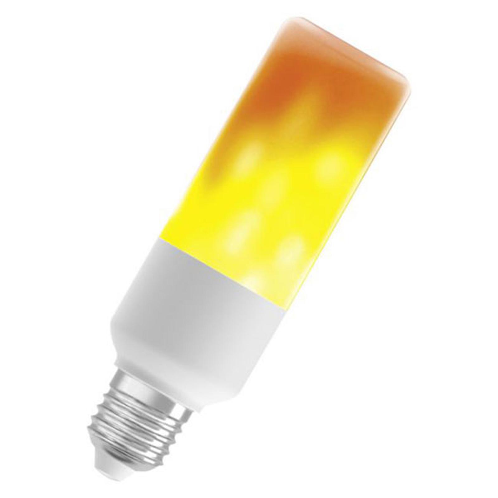 OSRAM Stick Flame LED-lampa E27, 0,5 W 1500K
