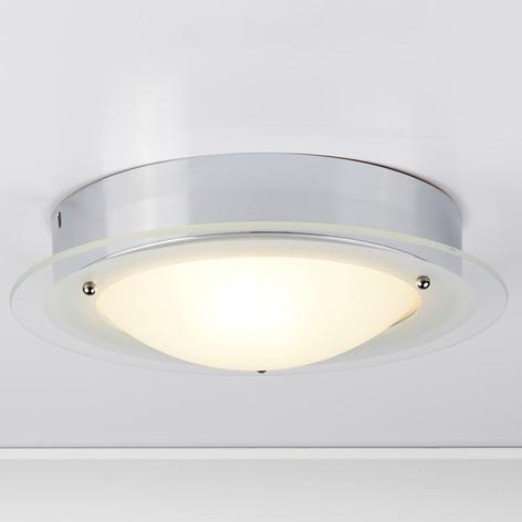Juna - Deckenlampe fürs Bad mit Glasrand