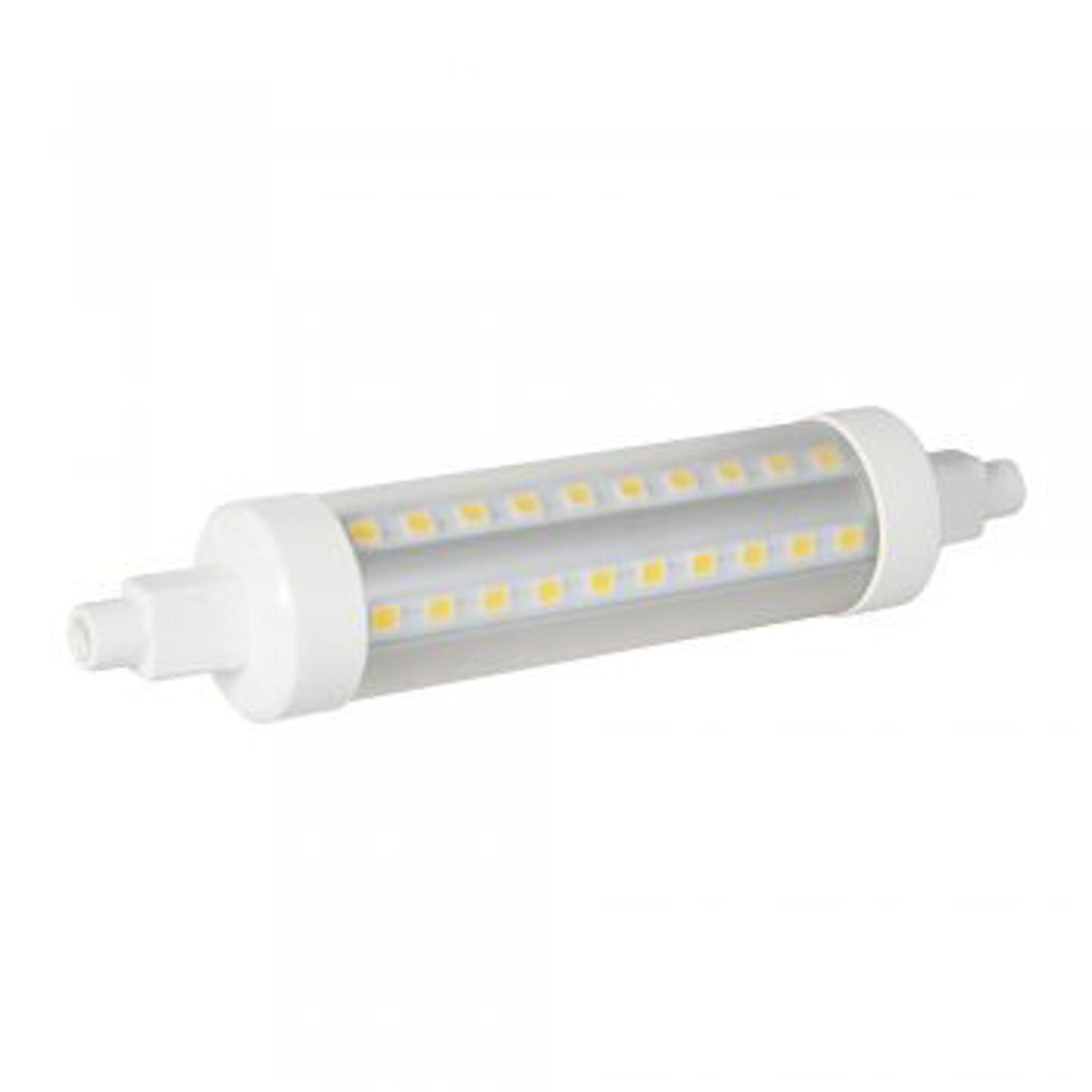 Ampoule LED R7s 8W 827 VEO en forme de tube