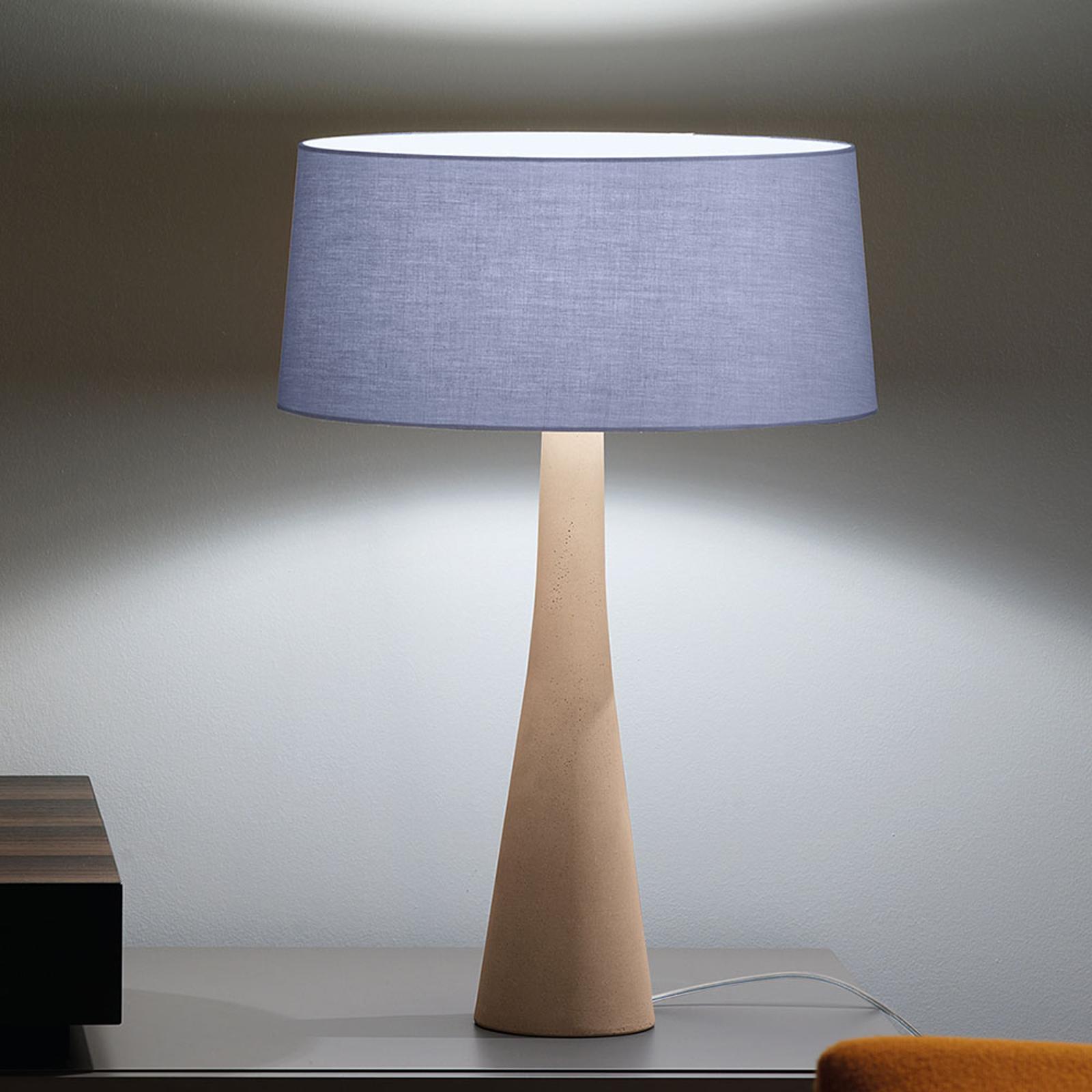 Modo Luce Aura lampe à poser beige/bleue