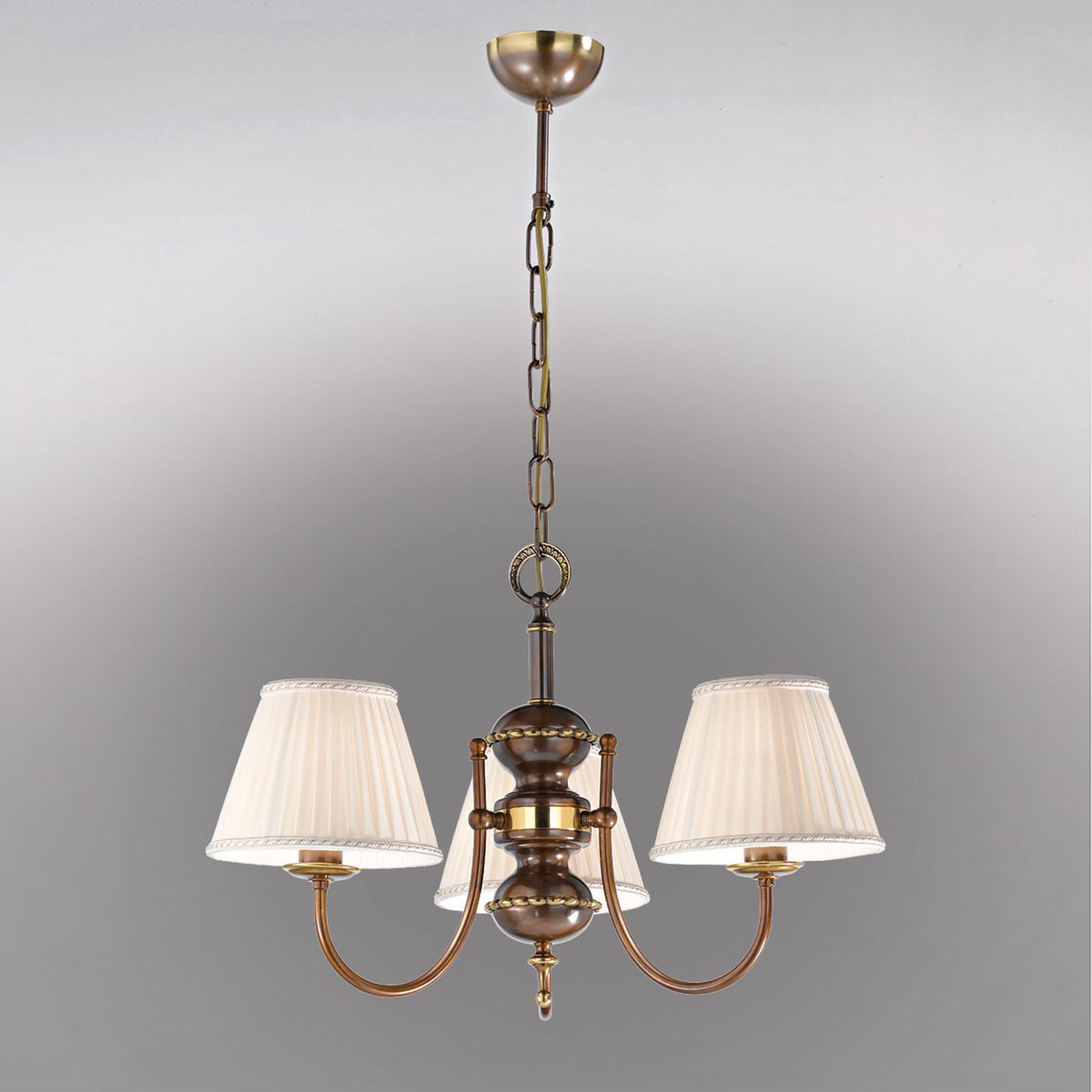 Lampada a sospensione Classic, 3 luci