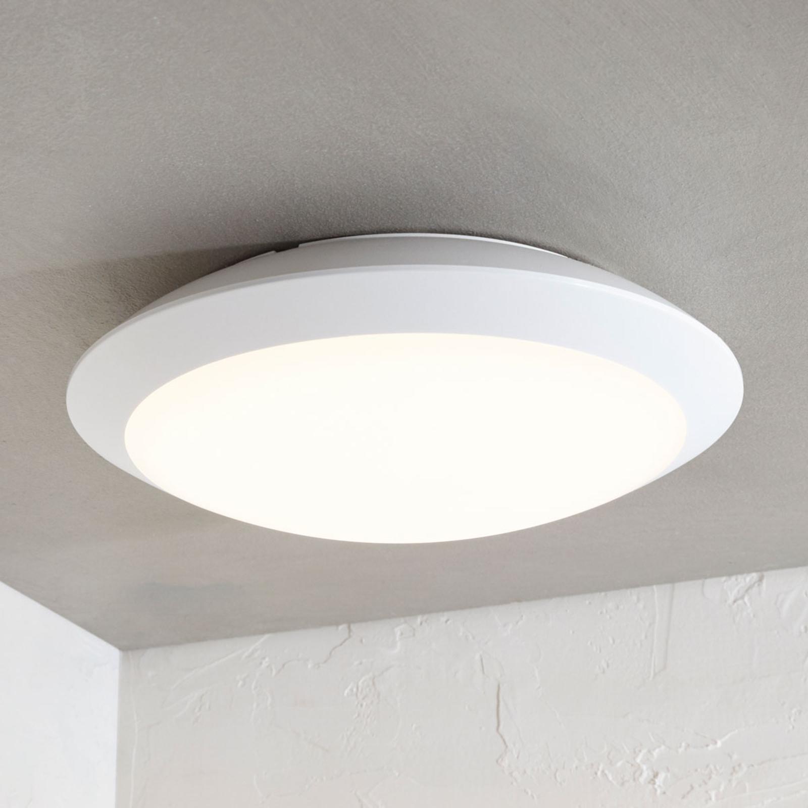 Lampa sufitowa LED Naira biała, bez czujnika