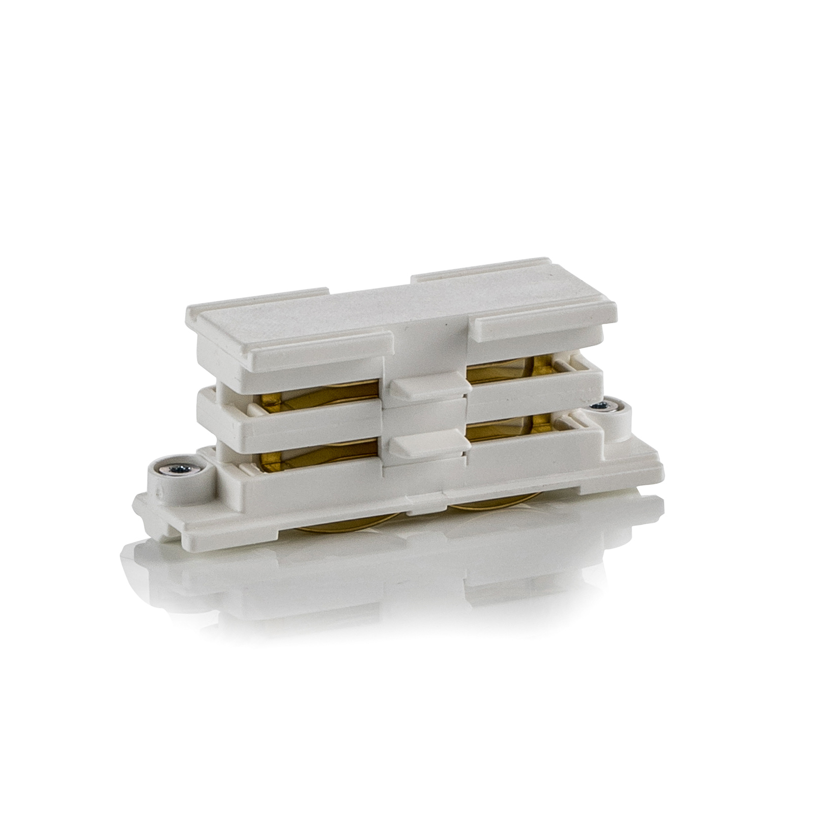 Linearverbinder für HV-Stromschiene Noa, weiß