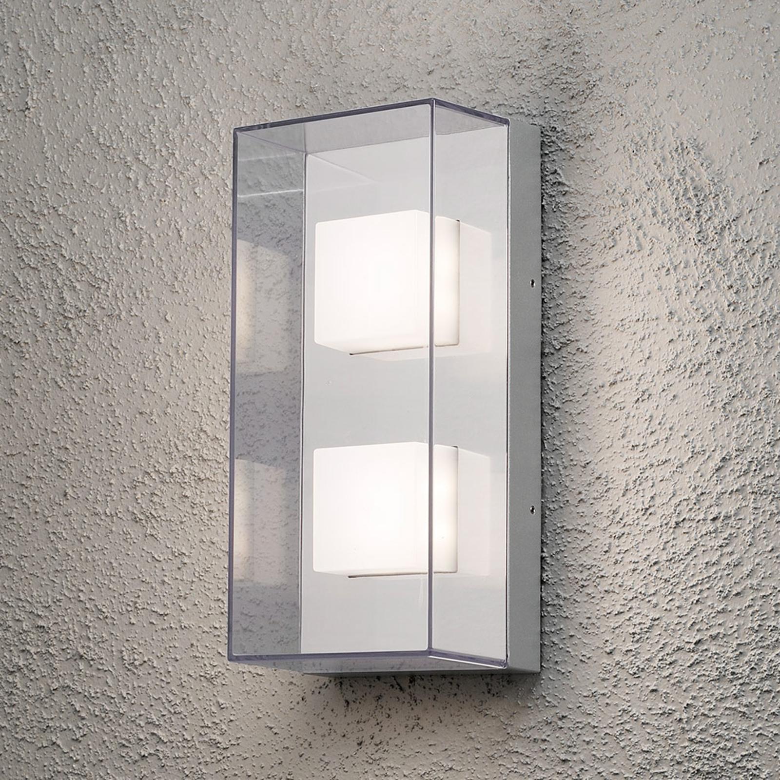 Applique d'extérieur LED rectangulaire Sanremo