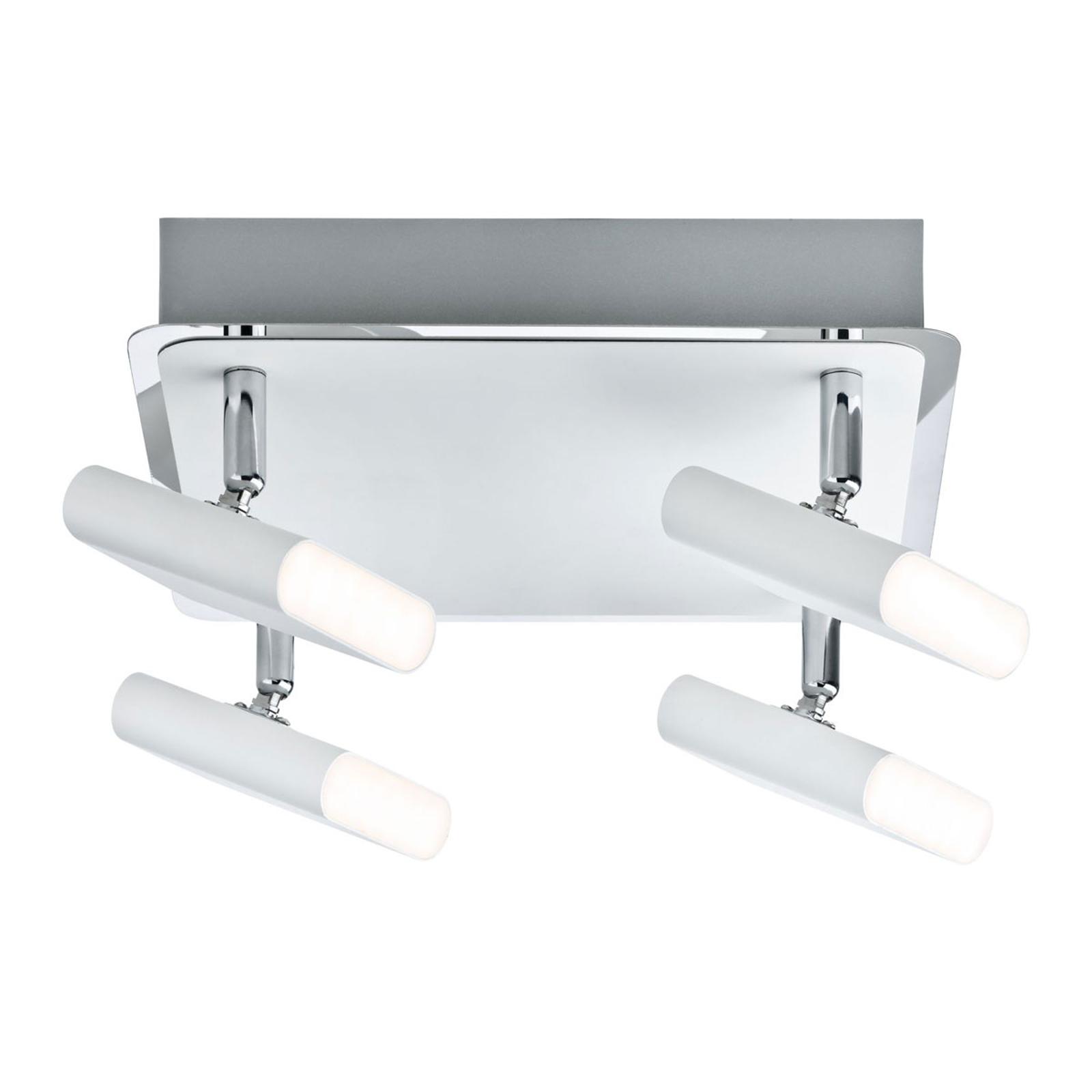 Paulmann Launcher LED-taklampe, 4 lyskilder