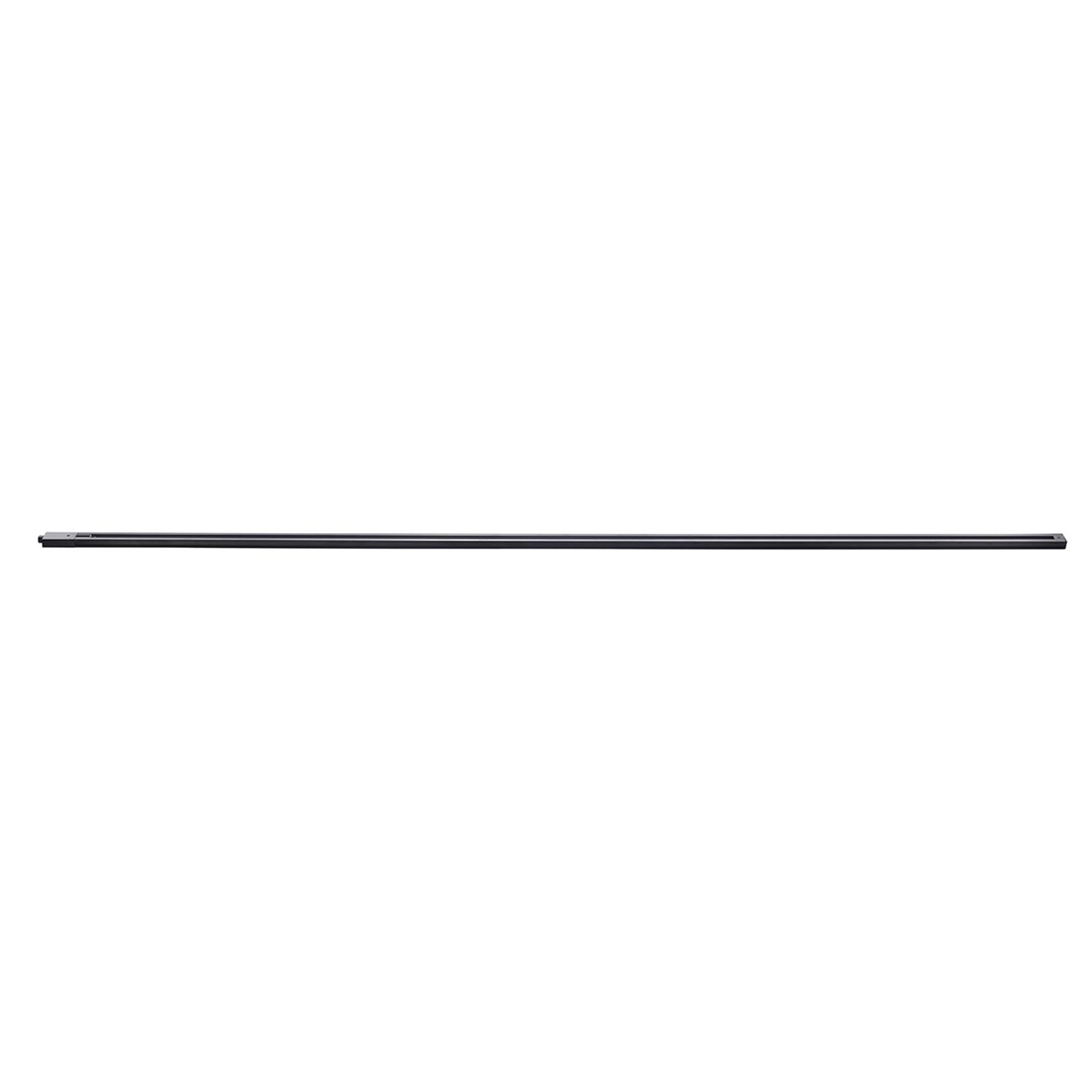 1-fase skinne til System Link, 200 cm, svart