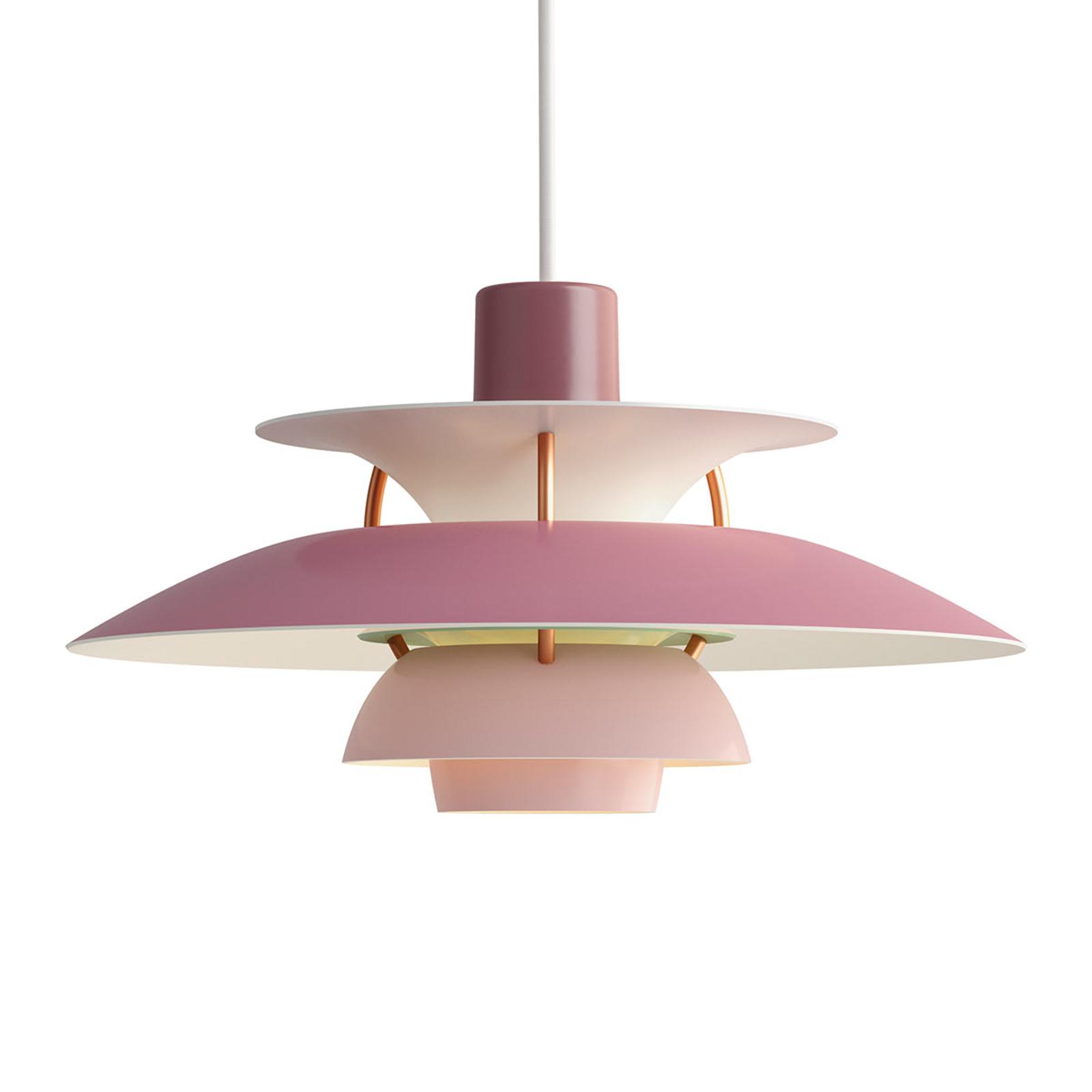 Louis Poulsen PH 5 Mini - Hängeleuchte, rosa