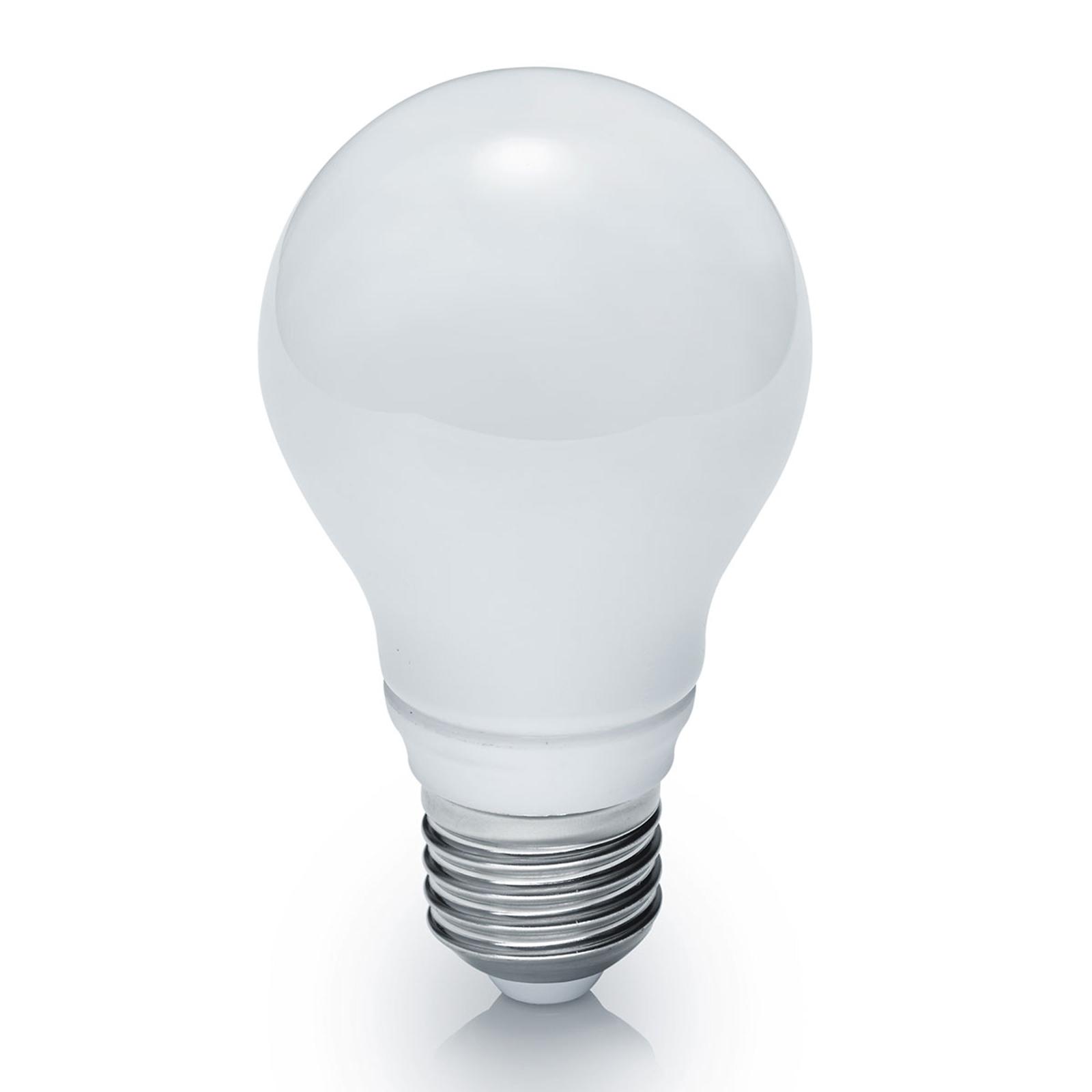 Lampadina LED E27 10W bianco caldo, dimmerabile