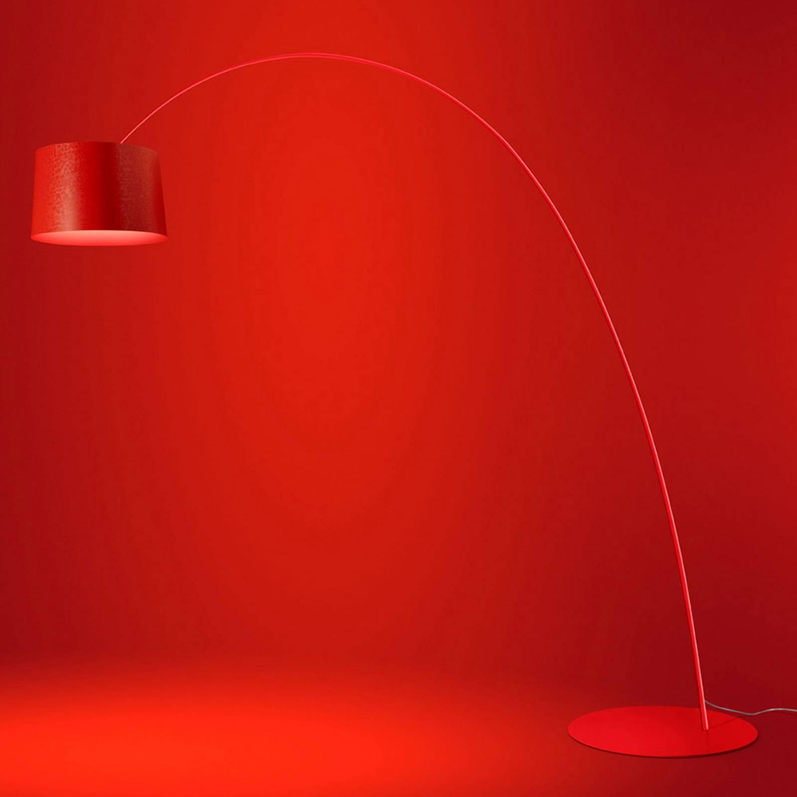 Foscarini Twiggy Elle LED-Stehleuchte purpur