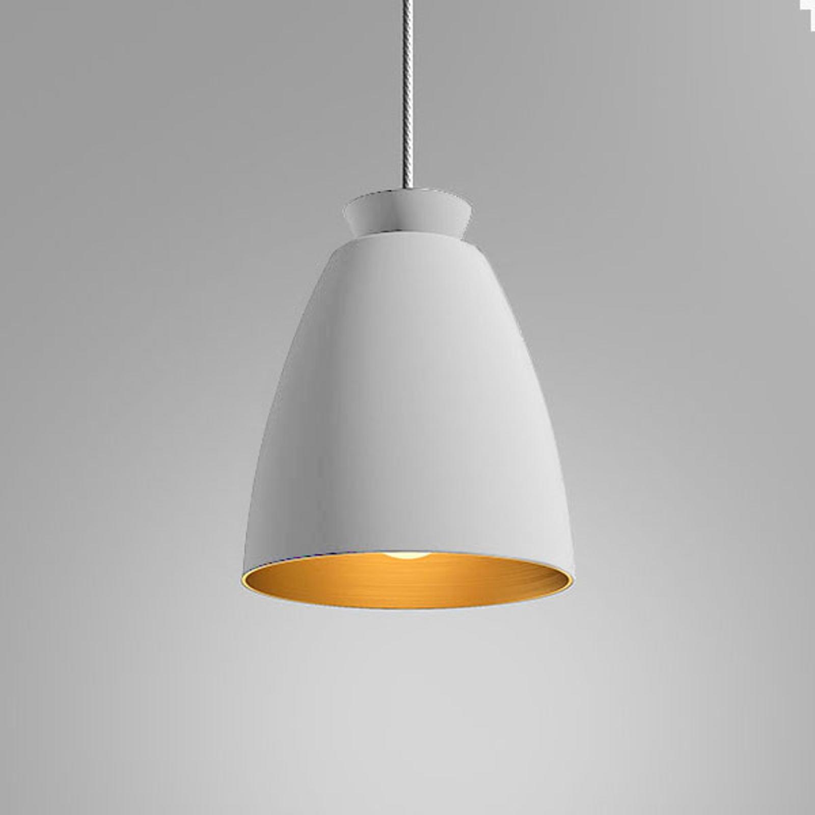 Innermost Chelsea - lampa wisząca Ø 18cm biała