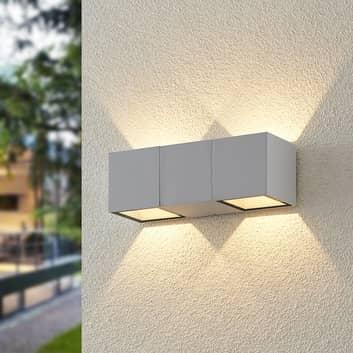 ELC Vanda aplique LED de exterior, blanco