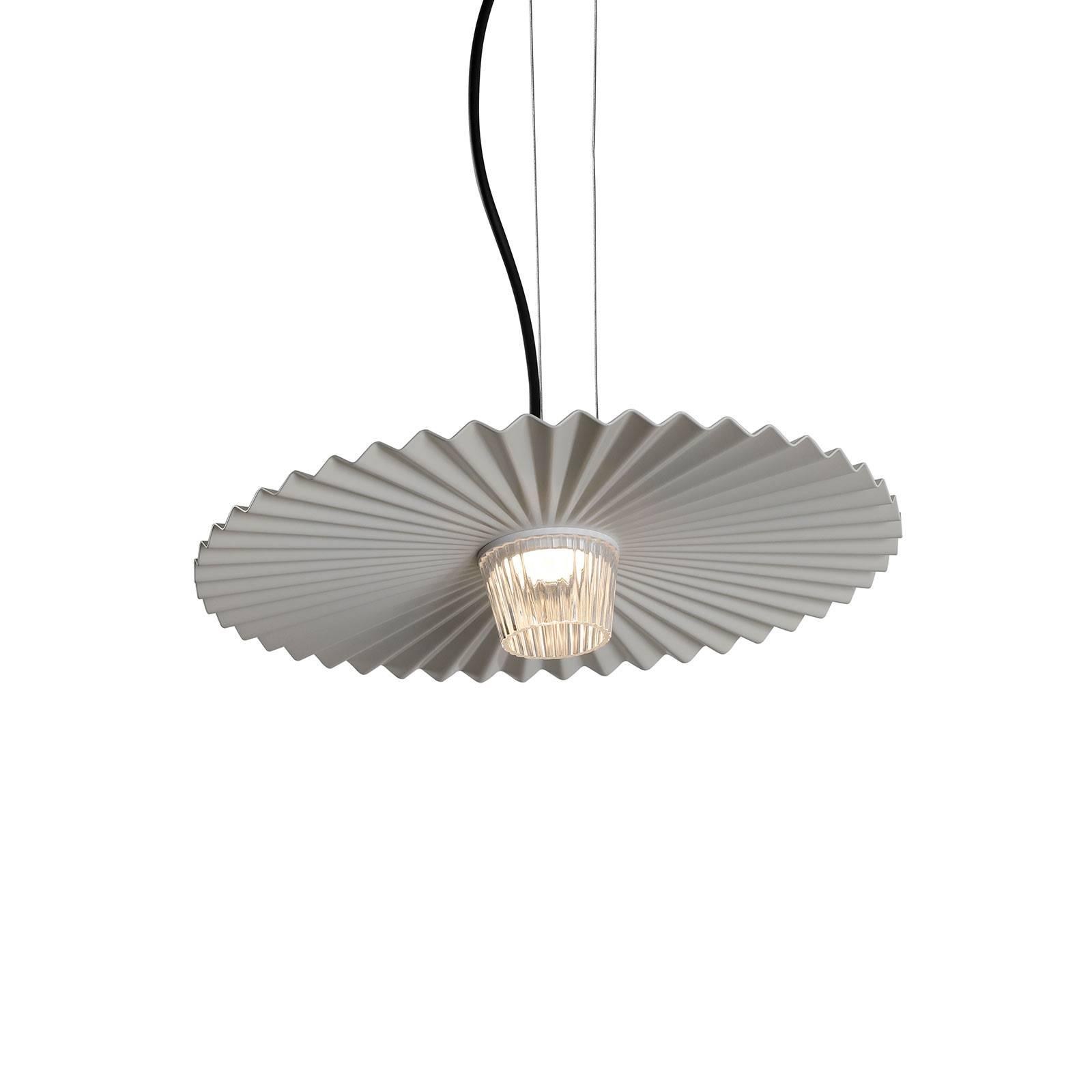 Karman Gonzaga LED-Hängeleuchte, Ø 42 cm, weiß
