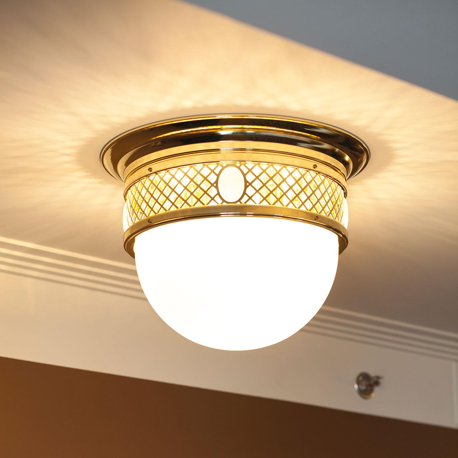 Lampa sufitowa ALT WIEN, mosiężny