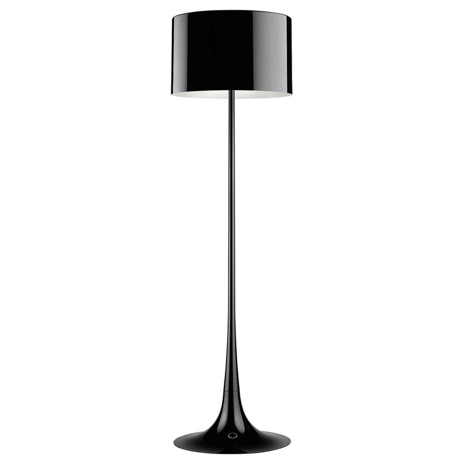 FLOS Spun Light F - schwarze Stehleuchte