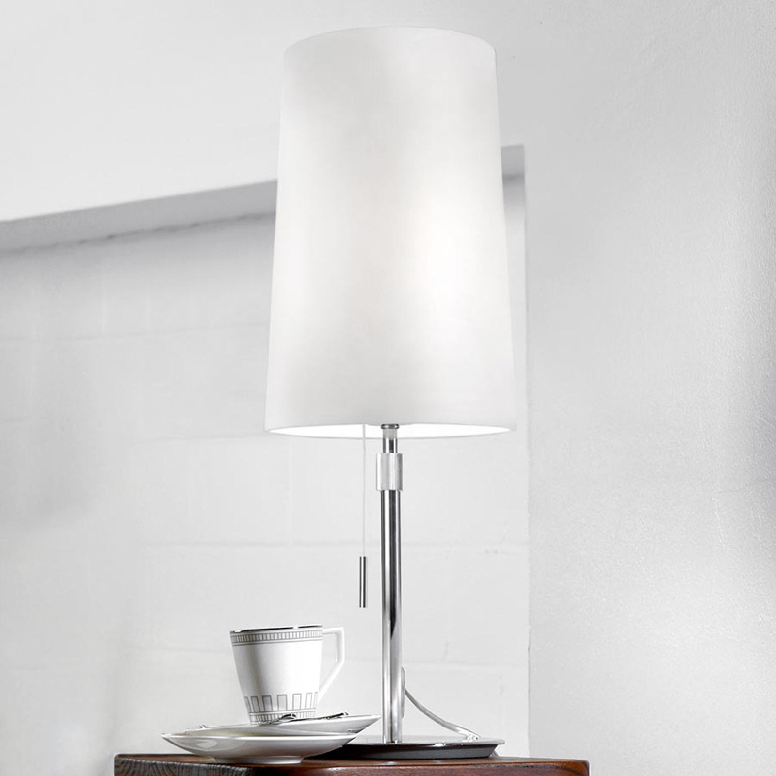 Villeroy & Boch Verona textiel tafellamp in wit