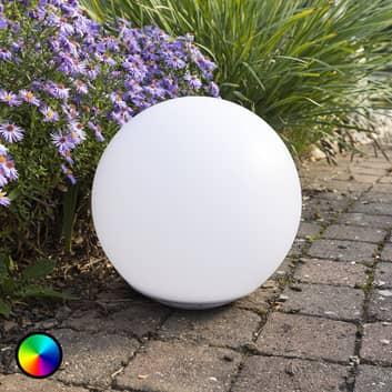 Pływająca solarna świecąca kula LED Globo