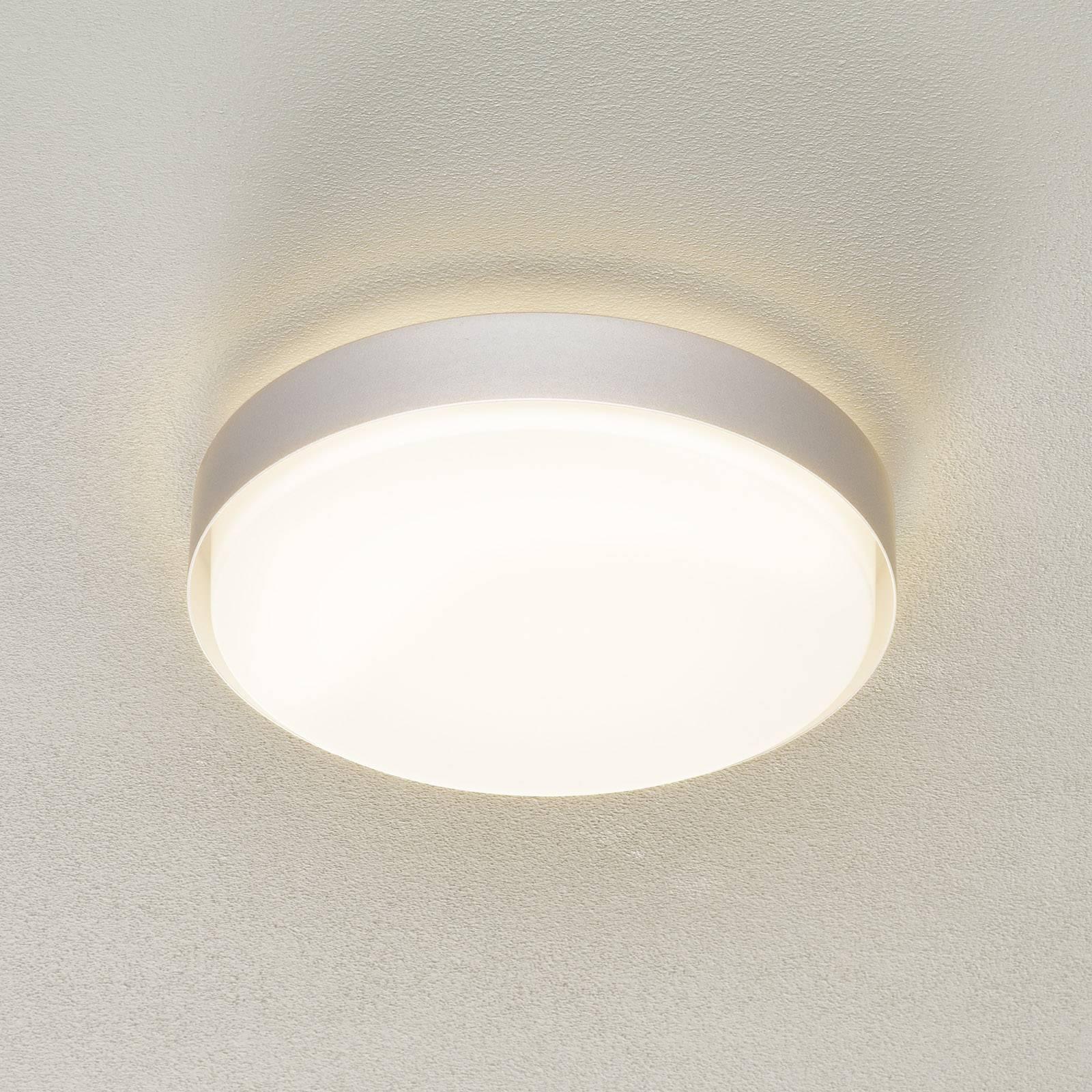BEGA 34278 LED-Deckenleuchte, alu, Ø 36 cm, DALI