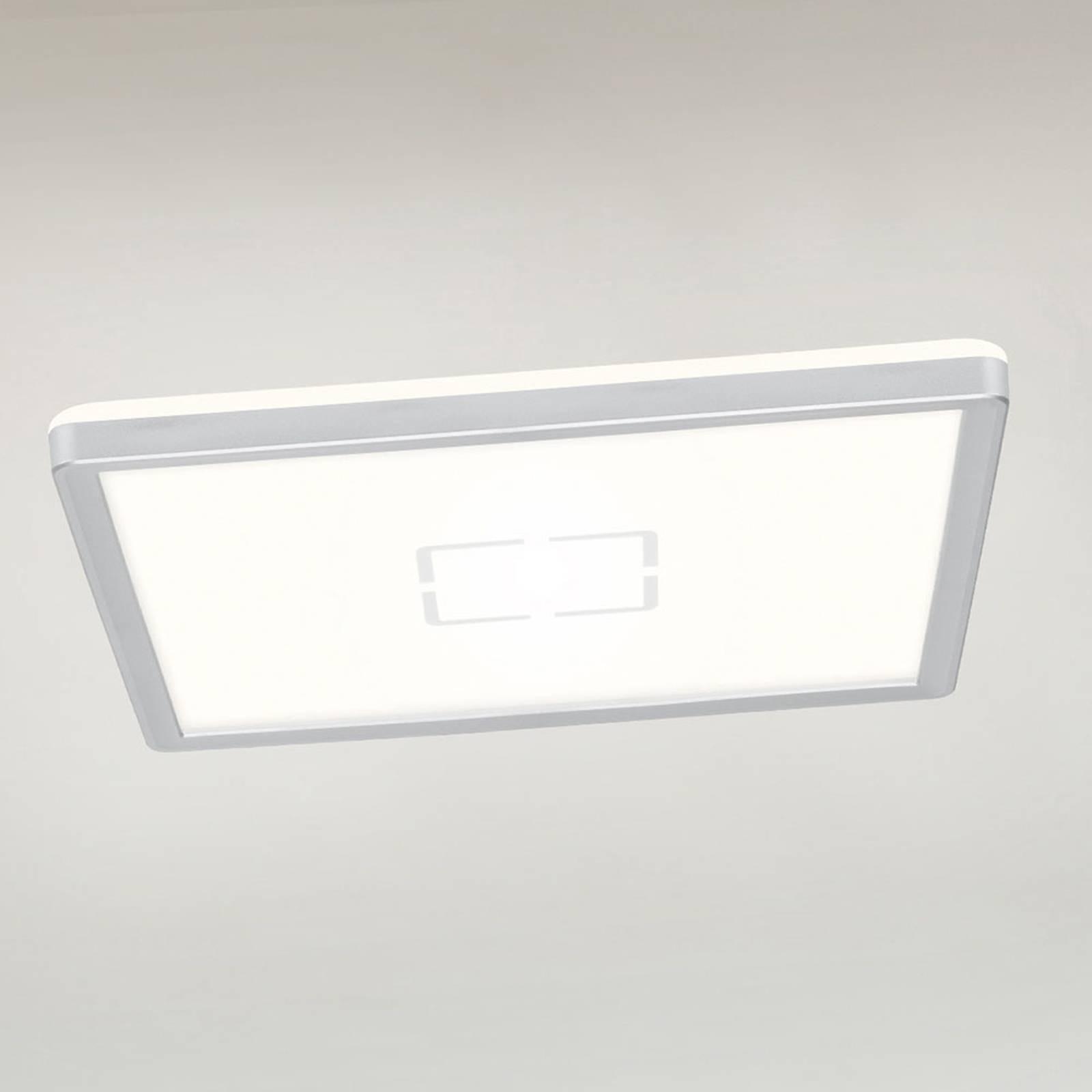 LED plafondlamp Free, 29 x 29 cm, zilver